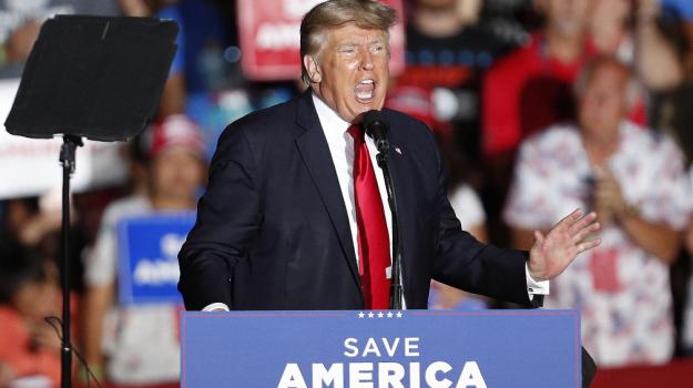Donald Trump, Sicilia, Mondo