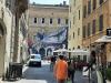 Lopera dellartista JR a Palazzo Farnese