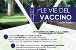 """""""Le vie del vaccino"""": somministrazioni all'interno dei Giardini dell'Orto Botanico di Messina"""