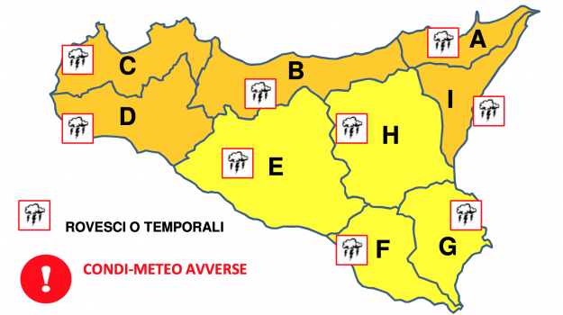 meteo, Sicilia, Meteo