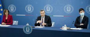 La conferenza stampa dopo il consiglio dei ministri