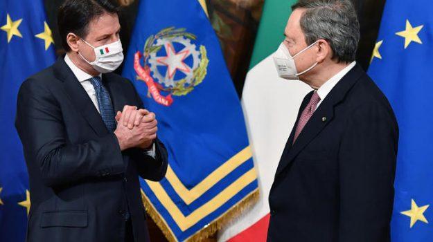 governo, m5s, Giuseppe Conte, Mario Draghi, Sicilia, Politica