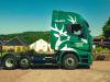 Autoarticolati green viaggiano in Scozia utilizzando whisky