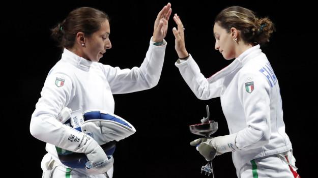 olimpiadi tokyo 2020, Alberta Santuccio, Rossella Fiamingo, Sicilia, Sport