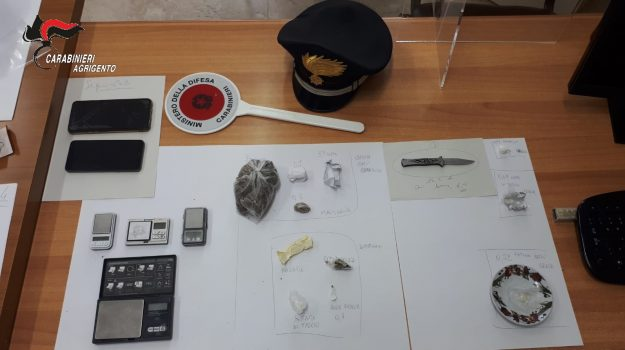 Aragona, droga, Agrigento, Cronaca