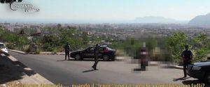 Un fermo immagine del video con le intercettazioni