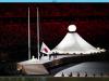 Via alle Olimpiadi di Tokyo, alla cerimonia di apertura anche le immagini di Milano in lockdown