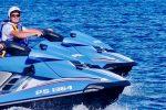 Sorpresi alla guida di acquascooter senza casco, 4 multati a Taormina e Giardini Naxos