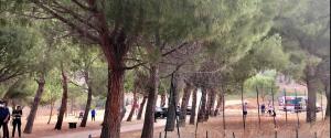 Il parco comunale di Carini dove è avvenuta la tragedia (foto di Piero Longo)