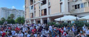 Borsellino, gli studenti custodi della memoria del giudice: in via D'Amelio gli alunni delle periferie