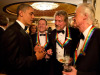 Led Zeppelin con lex presidente Usa Obama