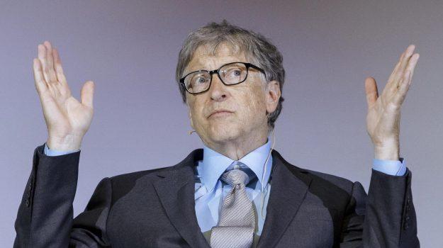 Bill Gates, Jeffrey Epstein, Melinda Gates, Sicilia, Mondo