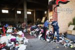 Scoperti rifiuti costituiti da apparecchiature elettriche nell'ex autoparco del Comune di Adrano