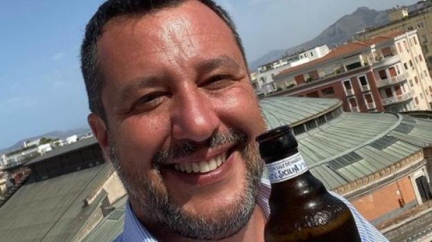 Matteo Salvini, Sicilia, Politica