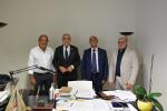 Nella foto: Emanuele Cassarà, Francesco Iudica, Ciro Viscuso e Salvatore Cordovana