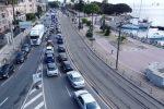 Auto in coda agli imbarcaderi a Messina