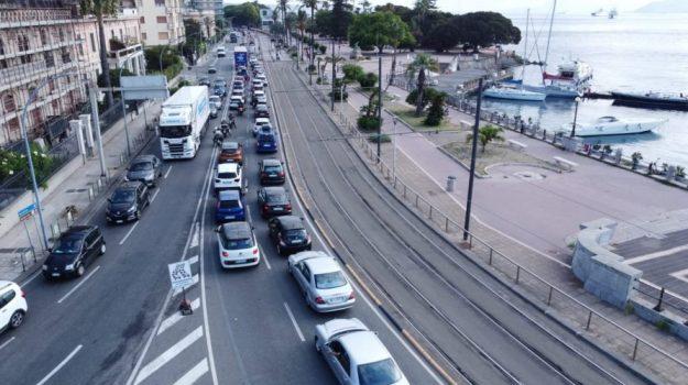 TRAFFICO, viabilità, Messina, Cronaca