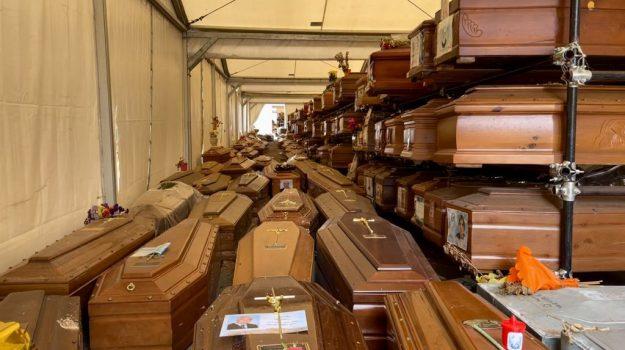 emergenza sepolture palermo, Rotoli, Toni Sala, Palermo, Cronaca