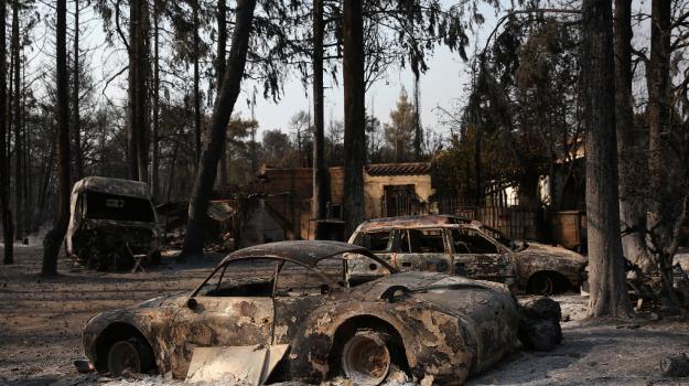 Grecia, incendi, Sicilia, Mondo