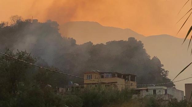 incendi, Fabrizio Curcio, Sicilia, Cronaca