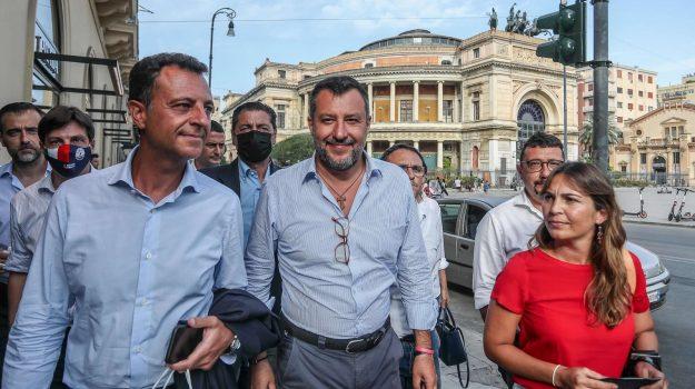 Lega, Gianfranco Miccichè, Matteo Salvini, Nello Musumeci, Sicilia, Politica