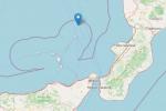 Scossa di terremoto di 3.2 nella notte al largo delle Eolie