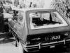 Lauto del giudice Rosario Livatino ucciso dalla mafia il 21 settembre del 1990 nei pressi di Agrigento.