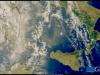 La nube di sabbia del Sahara incombe sul Sud Italia (fonte: Ue, Copernicus Sentinel-3)
