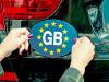 Gb, divieto uso vecchia placca nazionalità con stelle Ue