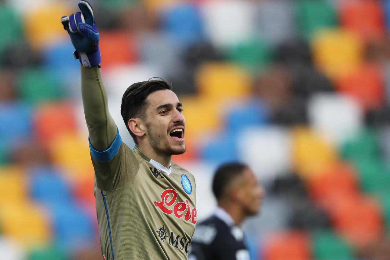 Meret lascia la Nazionale, frattura ad una vertebra: salterà anche la sfida  del Napoli con la Juventus - Giornale di Sicilia