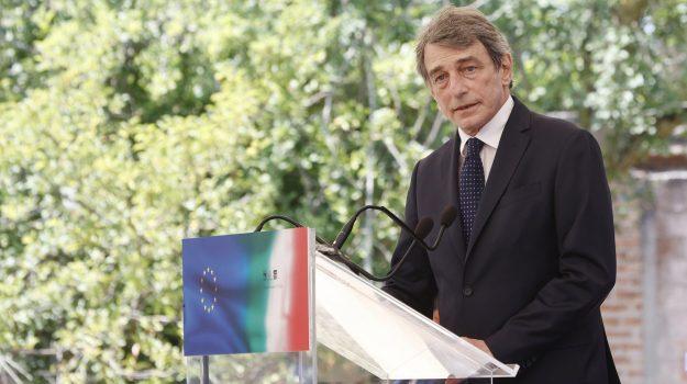 mafia, David Sassoli, Sicilia, Economia