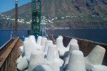 Stromboli, al via i lavori per mettere in sicurezza il porto di Ginostra