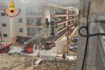 Incendio in mansarda, evacuata una famiglia a Comiso