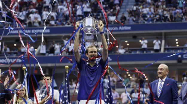 Tennis, Us Open, Daniil Medvedev, Sicilia, Sport