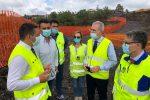 Infrastrutture, Falcone in visita nei cantieri delle statali Bronte-Adrano e Licodia Eubea-Libertinia