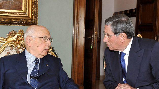 trattativa stato-mafia, Giorgio Napolitano, Nicola Mancino, Palermo, Cronaca