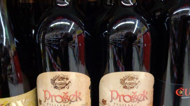 II vino croato Prosek in una immagine tratta da Wikipedia