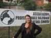 Una donna presidente degli Educatori Cinofili Professionali