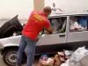 Palermo, auto abbandonata alla Vucciria piena di spazzatura rimossa dopo più di 4 mesi