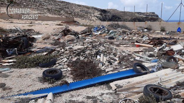 discarca abusiva, Lampedusa, rifiuti, Agrigento, Cronaca