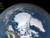 La riduzione dei ghiacci artici nel settembre 2021 (fonte: NASA)