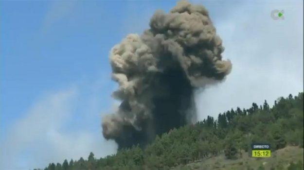 canarie, eruzione vulcanica, Sicilia, Mondo