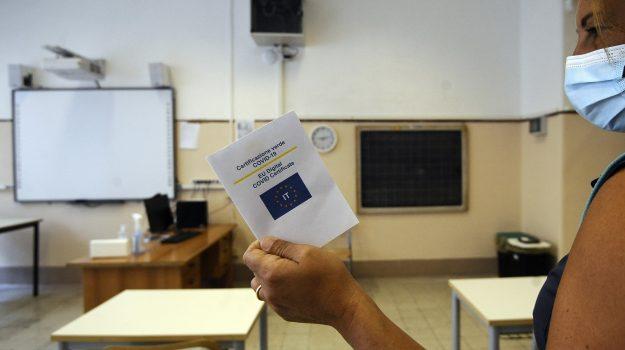 coronavirus, green pass, scuola, vaccino, Roberto Lagalla, Sicilia, Cronaca