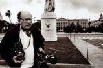 Nella foto: il fotoreporter Michelangelo Vizzini con la sua amata Messina
