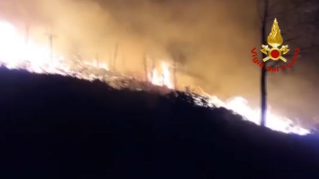 incendi, Scopello, Trapani, Cronaca
