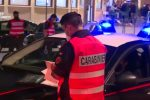 Un fermo immagine tratto dal video diffuso dai carabinieri di Caltanissetta