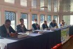 A bordo della nave Elio è arrivato l'annuncio dei nuovi investimenti di Caronte&Tourist