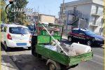 Trasporto illecito di rifiuti: sei denunciati ad Acireale, Pedara e Aci Bonaccorsi