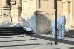 Il corpo di Concetta Gioè, 68 anni, è stato trovato sul sagrato della Chiesa di Santa Caterina a Messina