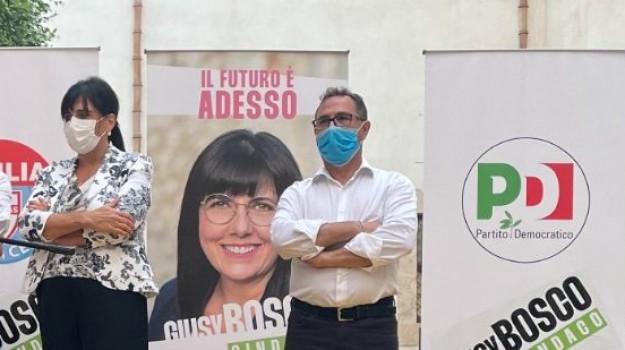 Alcamo, amministrative, ELEZIONI COMUNALI, Giacomo Scala, Giusy Bosco, Trapani, Politica